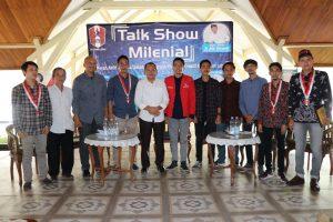 Talk Show Milenial, GMNI Lebak Ajak Pemuda Untuk Kreatif