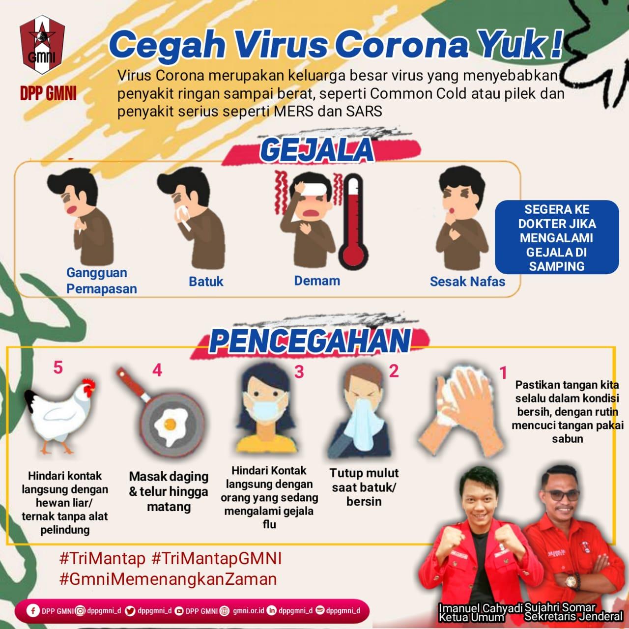 Cegah Virus Corona Yuk !