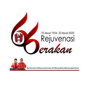 Logo Dies Natalis Ke – 66