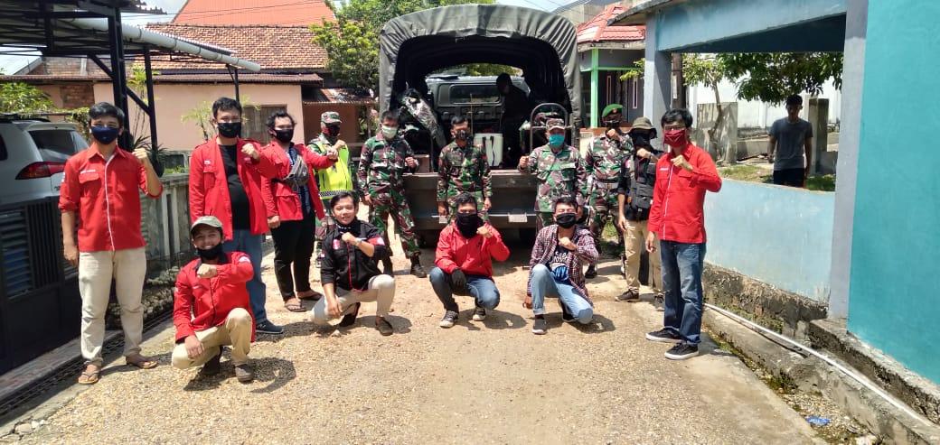 DPC GMNI Jambi Gelar Aksi Sosial Bersama Tim Gugus Penanganan Covid-19 Provinsi Jambi