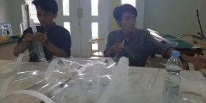 Kerjasama GMNI Surabaya dan Laboratorium Despro ITS Hadapi Badai Corona