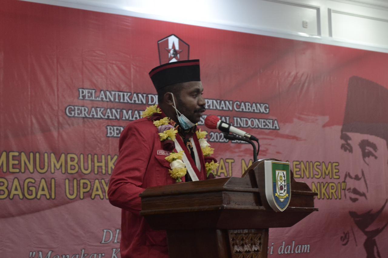 DPP GMNI Desak Polri Segera Tangkap dan Hukum Pelaku Rasis